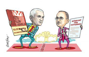 Karikatura e ditës në Albanian Free Press nga Kosta Raka (21 shkurt 2018)