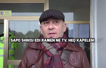 """""""ANTENA JASHTË FAMILJES""""/ Flet shoku Fate Velaj: Sapo shikoj Edi Ramën në tv, heq kapelen për respekt"""