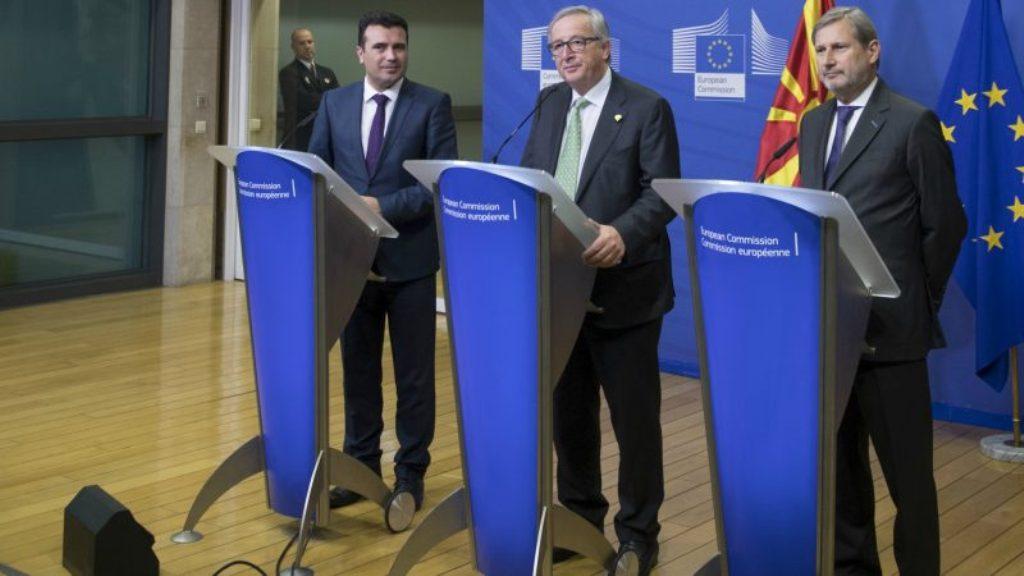 Integrimi në BE, Juncker dhe Hahn pas Shkupit sot në Tiranë