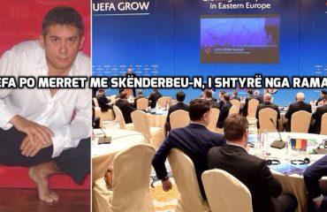 """""""ANTENA JASHTË FAMILJES""""/ Riflet shoku Fate Velaj: UEFA po merret me Skënderbeun, për shkak të Edi Ramës"""