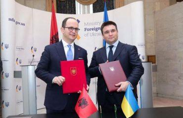 Vizita në Ukrainë, Bushati: Urë miqësie mes dy vendeve diasporën shqiptare