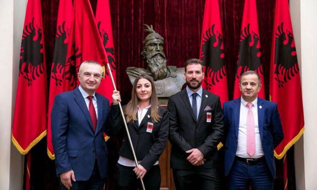 Para vizitës në Tiranë, Princi i Monakos takohet me ekipin Olimpik shqiptar në Pyeongchang
