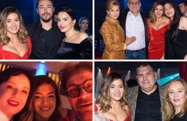 Ditëlindja e Elvana Gjatës bashkon familjet politike: Berisha, Rama e Haradinaj (Foto)