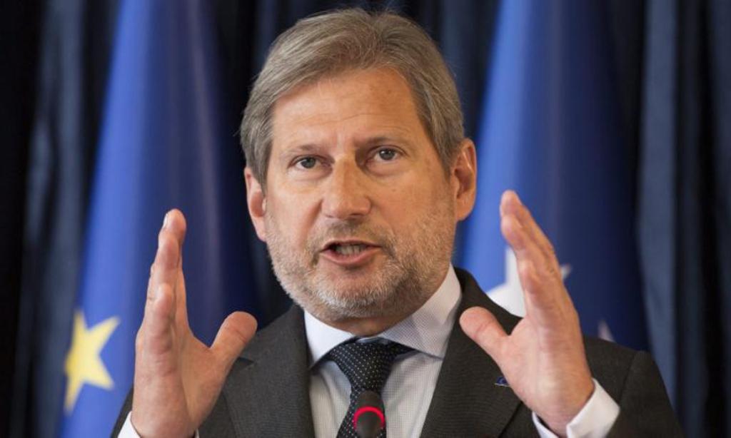 Komisioneri për zgjerimin Hahn: Maqedonia do ta zgjidhë shpejt çështjen e emrit