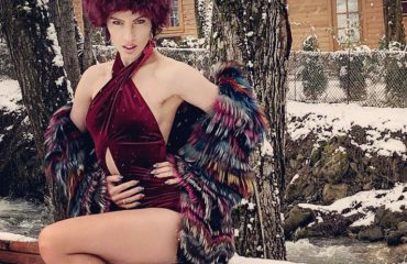 """Isida, një """"muzhike"""" në dëborë"""