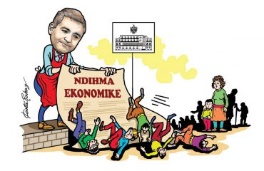 Karikatura e ditës në Albanian Free Press nga Kosta Raka (22 shkurt 2018)