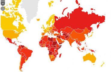 """Transparency International: Ja vendet më të korruptuara për 2017-ën, Shqipëria """"në rrethin e kuq"""""""