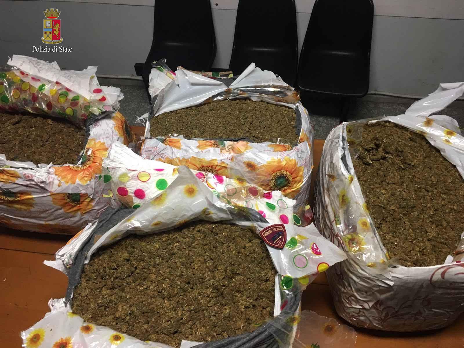 Tentuan të dërgonin me postë 75 kg marijuanë nga Roma në Londër, pranga shqiptarëve