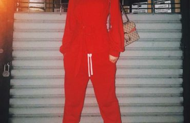 Xhesika Berberi, lady in red