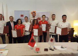 Bursa olimpike për tetë sportistë elitarë, Shqipër