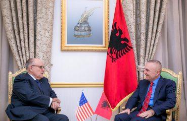 Meta: Giuliani, ndjenja pozitive për shqiptarët që jetojnë në Amerikë