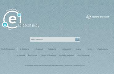 Lehtësi për tatimpaguesit, 13  taksa mund të paguhen përmes portalit e-Albania