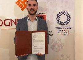 Smajlaj merr bursë olimpike për Tokio 2020, asku