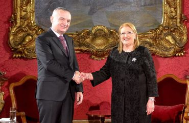 President Meta meets his Maltese counterpart