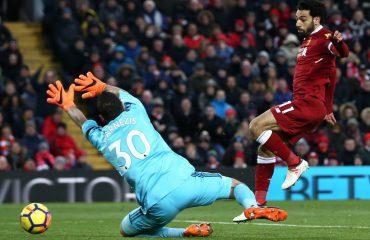 Supergola dhe spektakël i Liverpul, shkëlqen Salah me katër gola dhe një asist