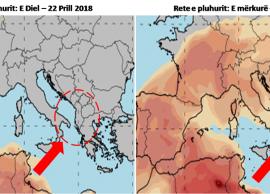 Meteorologët Këtë javë vijnë retë e pluhuri nga A