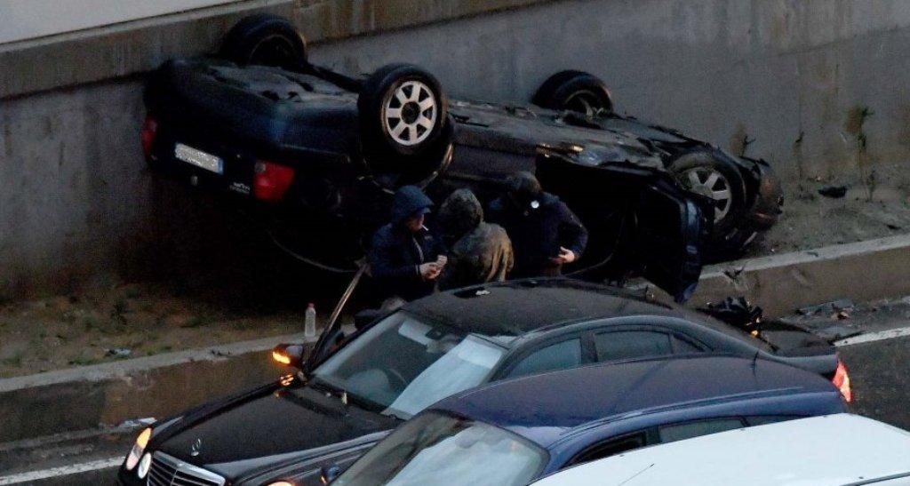 Aksident në tunelin e Elbasanit, vdes gruaja, plagoset rëndë bashkëshorti