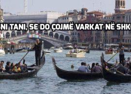 Emergjencat Civile Gondolat e Venecias, do përdor
