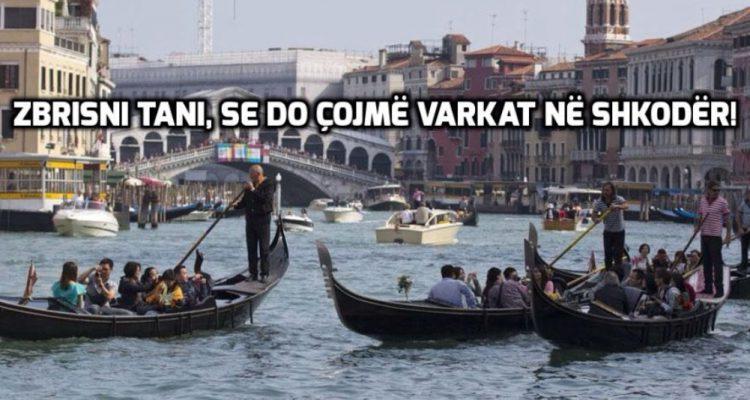 Emergjencat Civile: Gondolat e Venecias, do përdoren në përmbytjet e Shkodrës