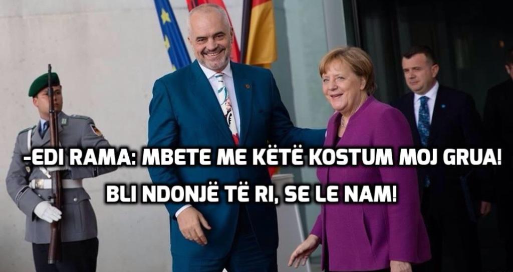 """""""ANTENA JASHTË FAMILJES""""/ Shoku Taulant Balla """"ja fut"""" Angjela Merkelit"""