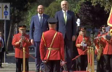 Kryeministri i Belgjikës në Tiranë, mbështet Shqipërinë në rrugën e integrimit