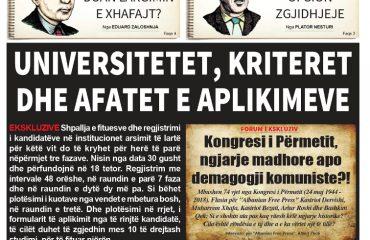 """Lexoni sot, 24 Maj 2018, në gazetën e përditshme """"Albanian Free Press"""""""