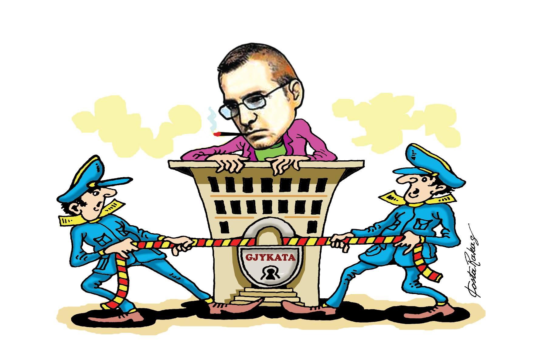Karikatura e ditës në Albanian Free Press nga Kosta Raka (14 maj 2018)