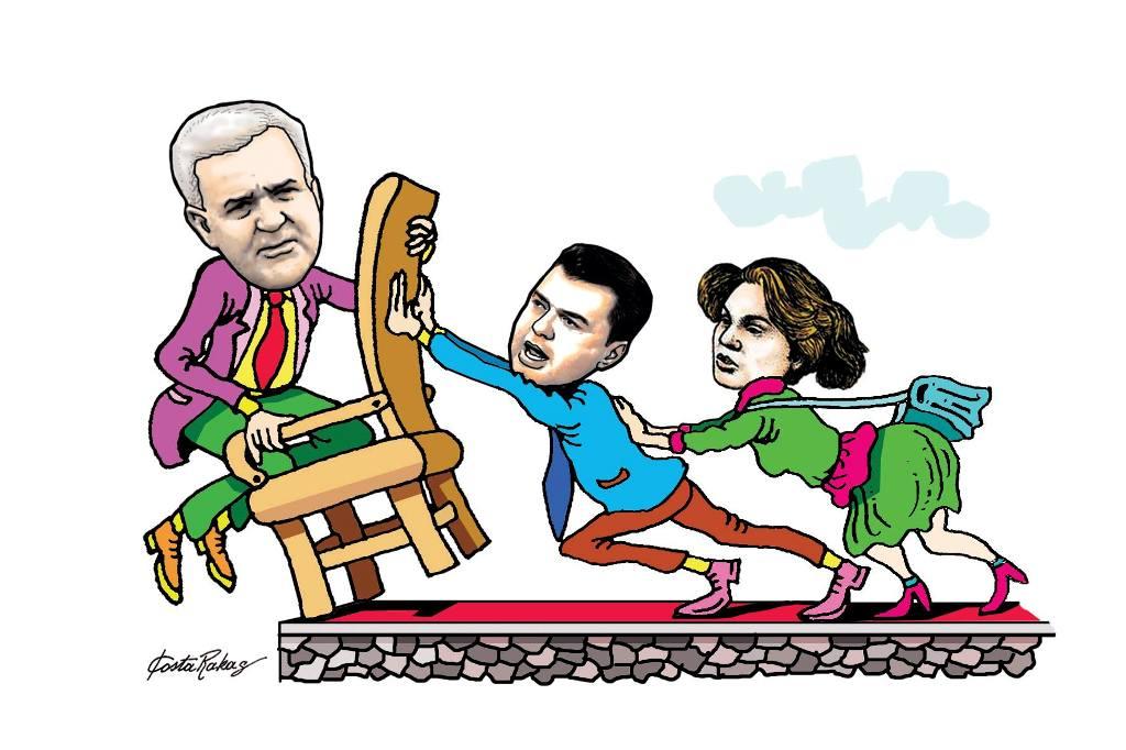 Karikatura e ditës në Albanian Free Press nga Kosta Raka (16 maj 2018)