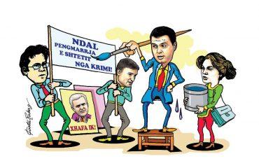 Karikatura e ditës në Albanian Free Press nga Kosta Raka (21 maj 2018)