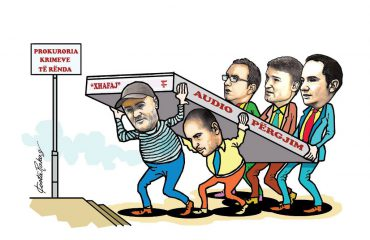 Karikatura e ditës në Albanian Free Press nga Kosta Raka (22 maj 2018)