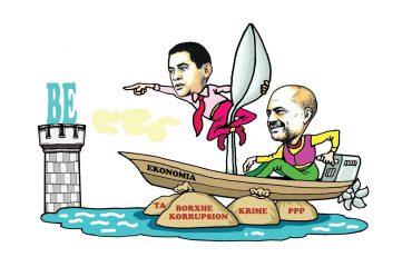 Karikatura e ditës në Albanian Free Press nga Kosta Raka (23 maj 2018)
