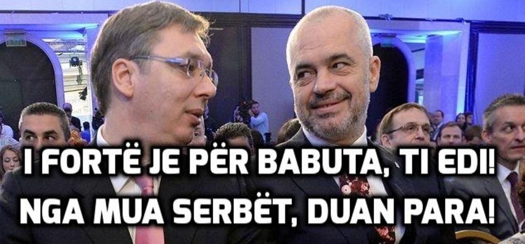 """""""ANTENA JASHTË FAMILJES""""/ Rama, Vuçiçit: Shqiptarëve u them që BE-ja s'm'i ka kaluar paratë në bankë"""