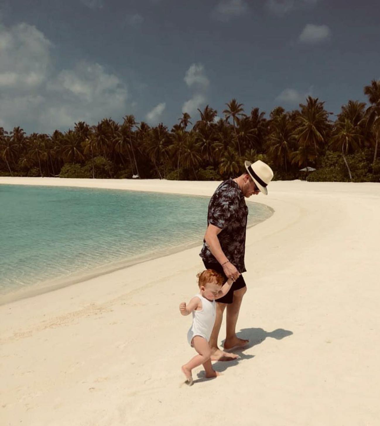 Babi Ledioni dhe i biri, në parajsë