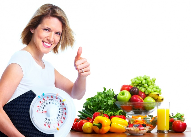 Dieta 3-ditore me fruta, pastron organizmin