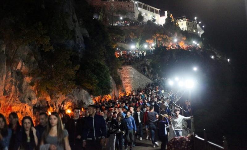 """Pelegrinazhi në """"Kishën e Laçit"""", ja masat e marra nga policia"""