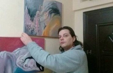 "Lian Luftija, penelata ""blu"" e impresionizmit"