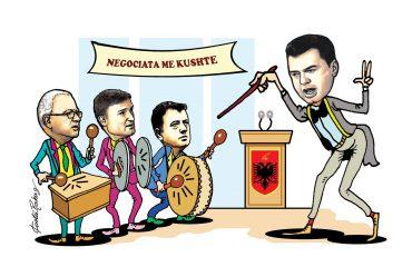 Karikatura e ditës në Albanian Free Press nga Kosta Raka (22 qershor 2018)