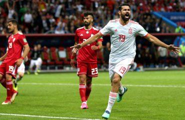 Mjafton Diego Costa, Spanja kalon pa shkëlqim