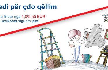 """Fibank Albania ofron kredi """"Për çdo qëllim"""" me kushtet më të favorshme të mundshme"""
