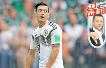 Kritika e Mateusit: Ozil nuk ndihet rehat në fanellën e Gjermanisë