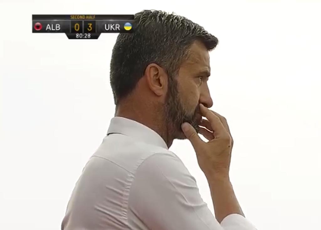 """Ukrainë-Shqipëri 4-1, Ndoj """"nderi"""" i dy humbjeve turpëruese në miqësoret e Panucci-t"""