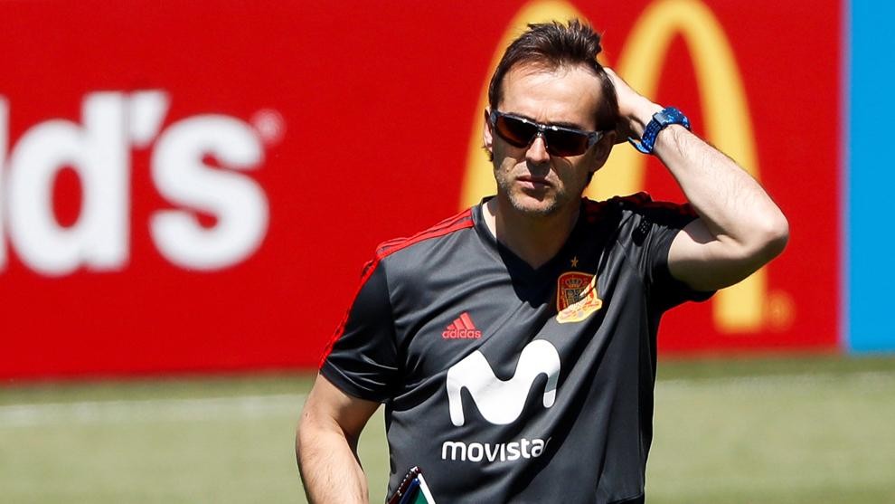 Trajneri i Spanjës firmos për tre sezone, Julen Lopetegui trajneri i ri i Real Madrid
