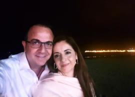 Arditi mbrëmje romantike me bashkëshorten