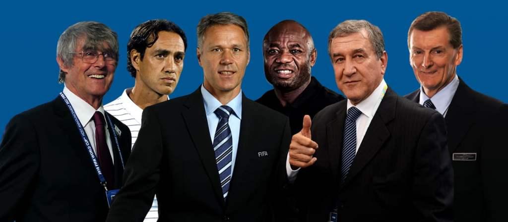 """YJET E SË KALUARËS/ Perreira, Milutinoviç, Nesta dhe van Basten, si """"juria"""" e këtij botërori"""