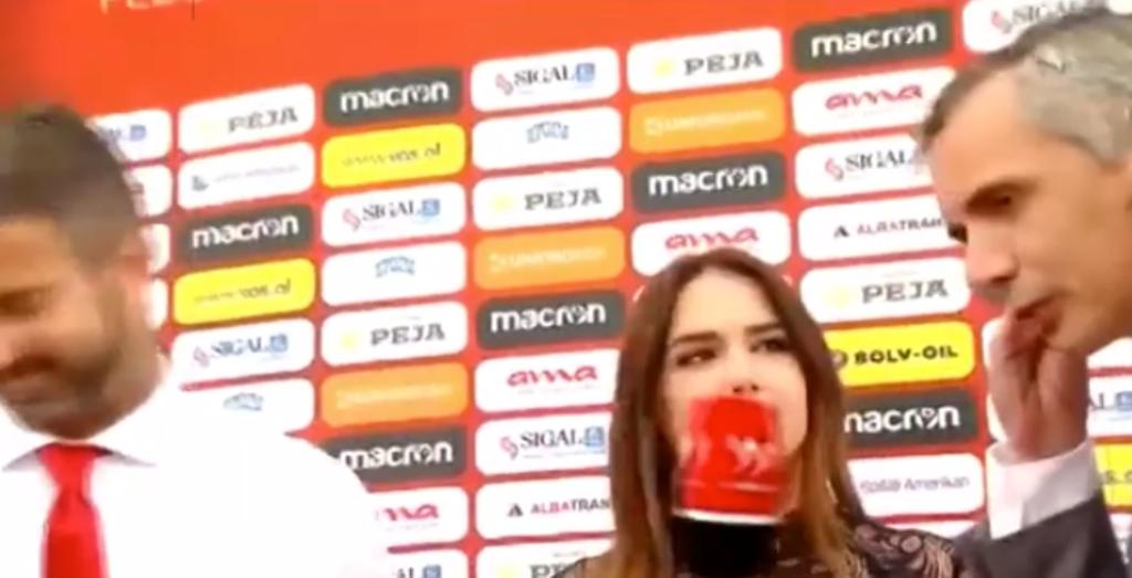 Tifozët i ndërpresin intervistën Panucci-t dhe ai ikën, Ilda zihet ngushtë me zëdhënësin e FSHF-së