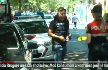 Sensibilizim për drejtuesit e mjeteve, Policia: Mos pini alkool po jeni në timon