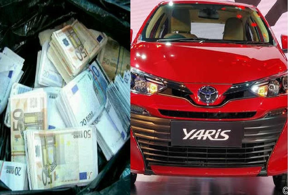 3.4 milionë eurot e kapura në Toyota, Krimet e Rënda dërgojnë letër-porosi 3 shteteve për të arrestuarit