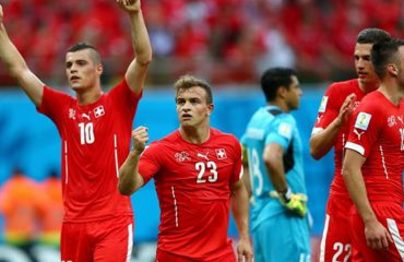 """""""Hija"""" e Kosovës ndjek pas ndeshjen Zvicër-Serbi"""
