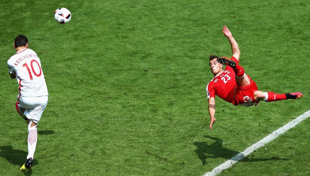 Xherdan Shaqiri, mes rekordmenëve të Kupës së Botës