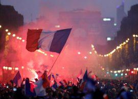 Festa, e tërë Franca zbret në sheshe